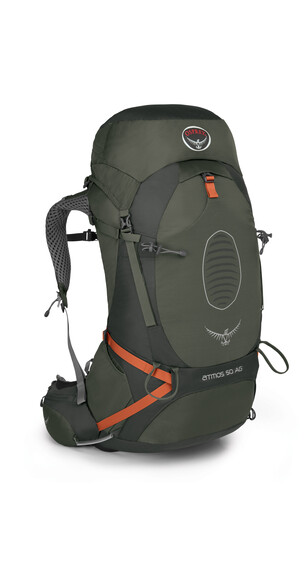 Osprey Atmos AG 50 - Sac à dos - Grandes sacoches d'itinéraires d'aventure olive